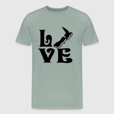Love New Zealand Shirt - Men's Premium T-Shirt