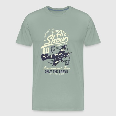 Airplane Pilot - Men's Premium T-Shirt