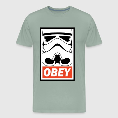 OBEY - Stormtrooper - Men's Premium T-Shirt