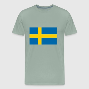Sweden flag - Men's Premium T-Shirt