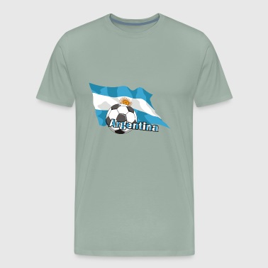 Argentina Football - Men's Premium T-Shirt