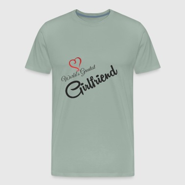 GIFT - WORLD'S GREATEST GIRLFRIEND - Men's Premium T-Shirt