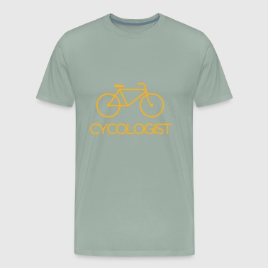 cycologist cycling cycle - Men's Premium T-Shirt
