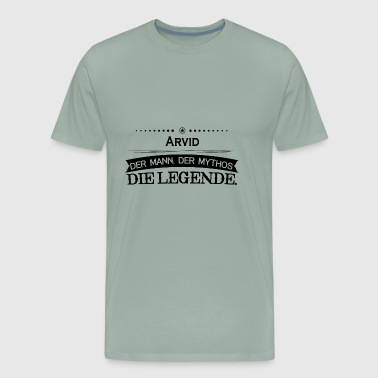 Mythos Legende Vorname Arvid - Men's Premium T-Shirt