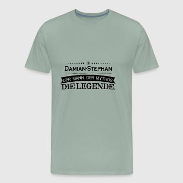 Mythos Legende Vorname Damian Stephan - Men's Premium T-Shirt