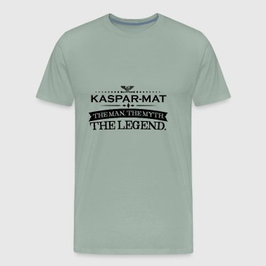 Mann mythos legende geschenk Kaspar Mathias - Men's Premium T-Shirt