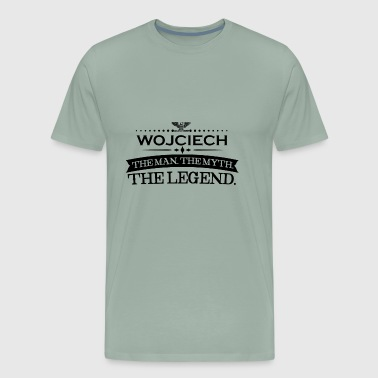 Mann mythos legende geschenk Wojciech - Men's Premium T-Shirt