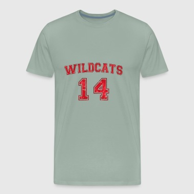 Wildcats high school - Men's Premium T-Shirt