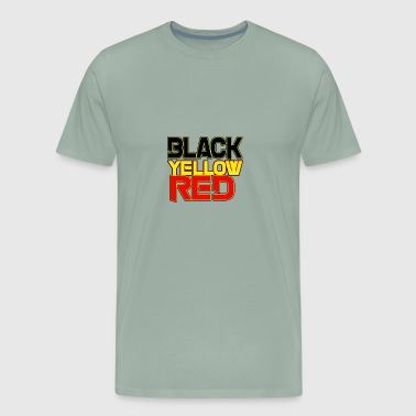 black yellow red - Men's Premium T-Shirt