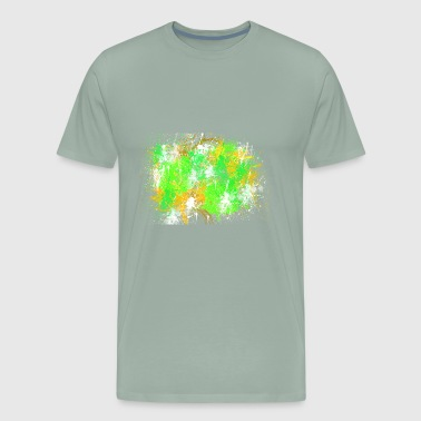 Halloween abstract Painting Design - Men's Premium T-Shirt