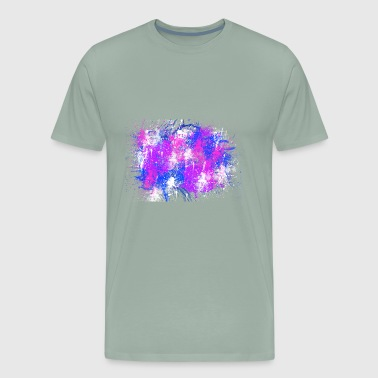Abstract Color Painting - Men's Premium T-Shirt