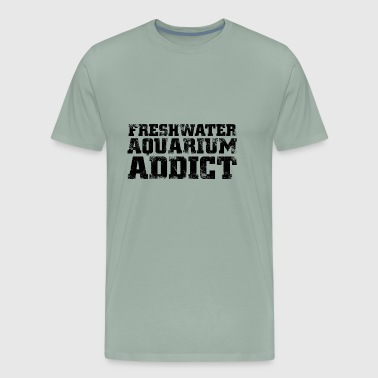 freshwater aquarium addict - Men's Premium T-Shirt