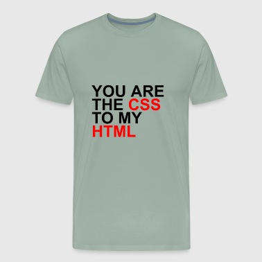 css to my html - Men's Premium T-Shirt