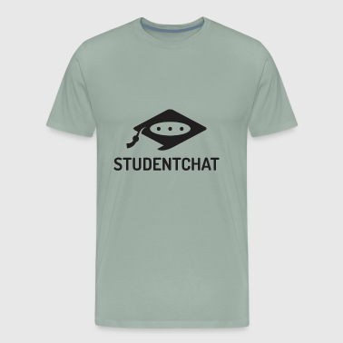 Student Chat - Men's Premium T-Shirt