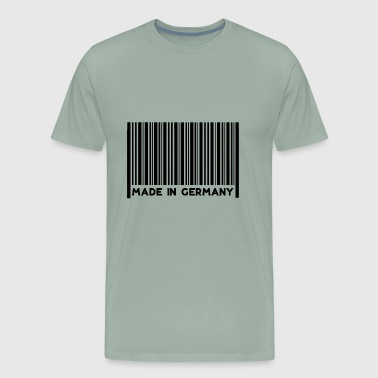 Barcode Made in Germany - Men's Premium T-Shirt
