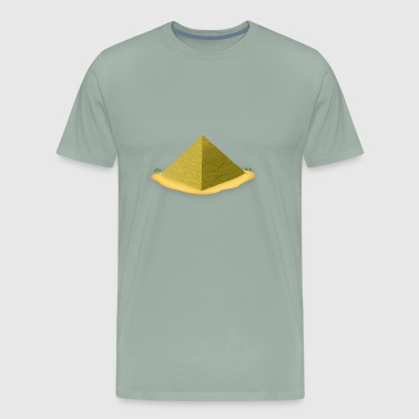 Cairo pyramid - Men's Premium T-Shirt