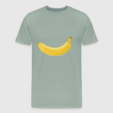 Banana - Fruit - Yellow - Men's Premium T-Shirt