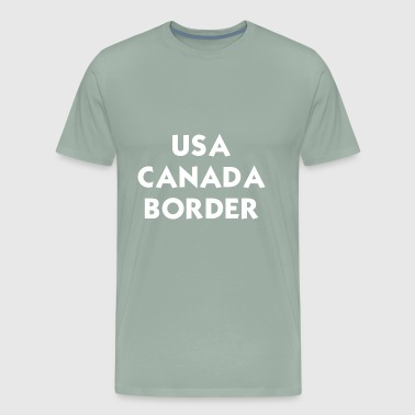USA CANADA - Men's Premium T-Shirt