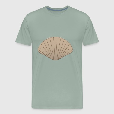 scallop - Men's Premium T-Shirt