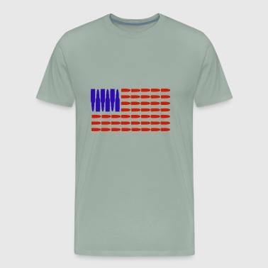 Ammo Flag - Men's Premium T-Shirt