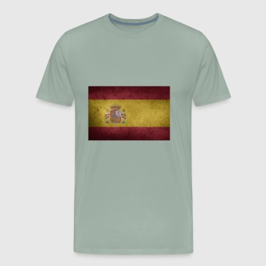 flag of spain - Men's Premium T-Shirt