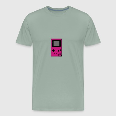 Gray Pink Gameboi - Men's Premium T-Shirt