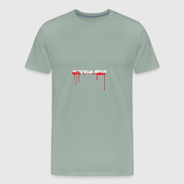 Blood A Jesus - Men's Premium T-Shirt