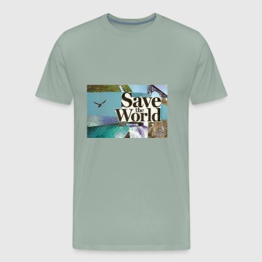 savetheworld - Men's Premium T-Shirt