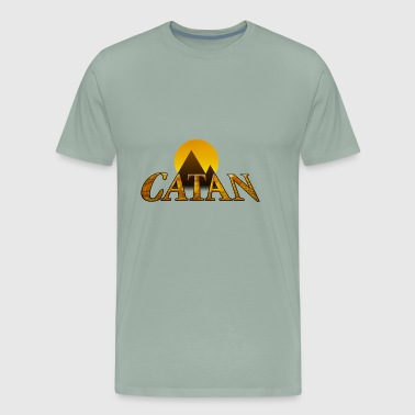 Modern Settlers of Catan - Men's Premium T-Shirt