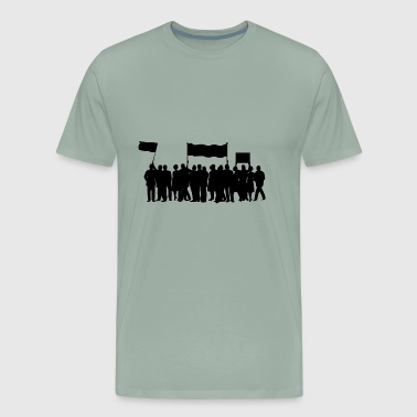 Protester protest - Men's Premium T-Shirt