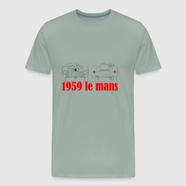 Le mans 1959 375 - Men's Premium T-Shirt