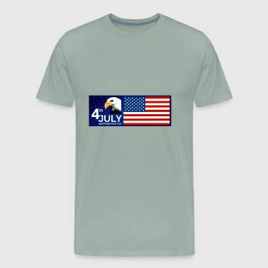 Independence day USA 4th july - Men's Premium T-Shirt