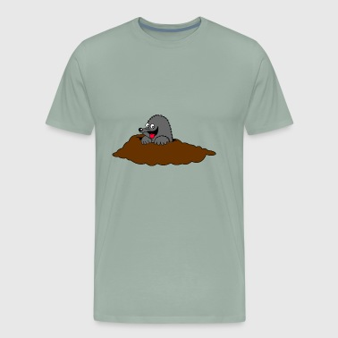 Funny Scary Mole Scary Funny - Men's Premium T-Shirt