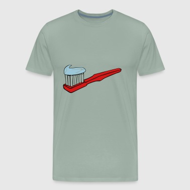 Toothbrush - Men's Premium T-Shirt