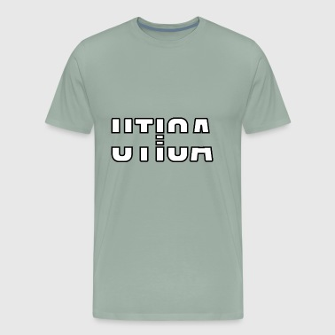 utica design - Men's Premium T-Shirt