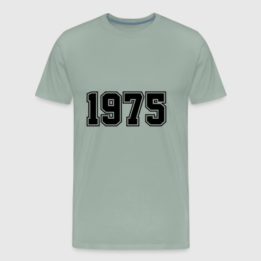 1975 | Year of Birth | Birth Year | Birthday - Men's Premium T-Shirt