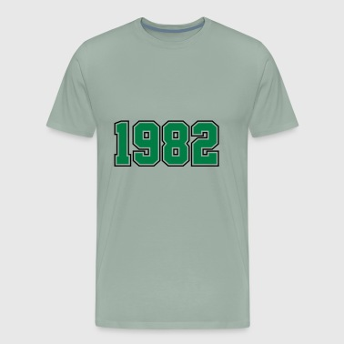 1982 | Year of Birth | Birth Year | Birthday - Men's Premium T-Shirt