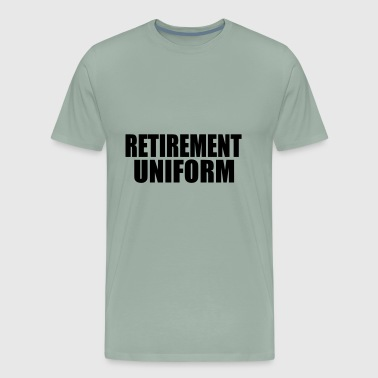 uniform retired - Men's Premium T-Shirt