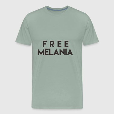 Free Melania Black - Men's Premium T-Shirt