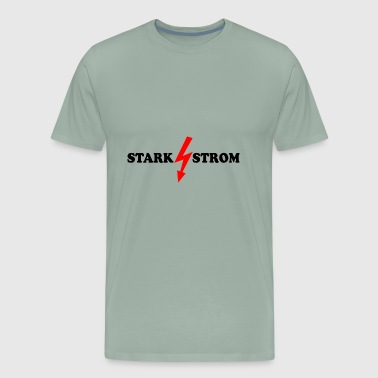 STARK STROM - HIGH POWER - Men's Premium T-Shirt