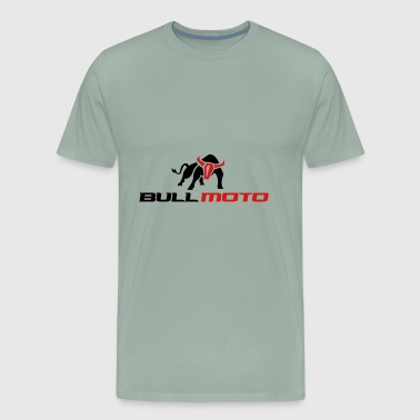 Moto Star BULL MOTO Can Not Be Tamed - Men's Premium T-Shirt