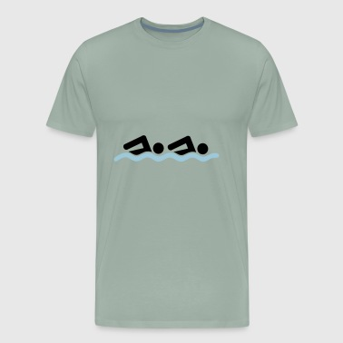 swimming team - Men's Premium T-Shirt