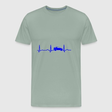 GIFT - ECG JEEP BLUE - Men's Premium T-Shirt