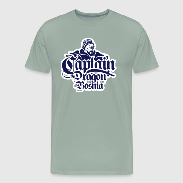 Captain The Dragon Of Bosnia - Men's Premium T-Shirt