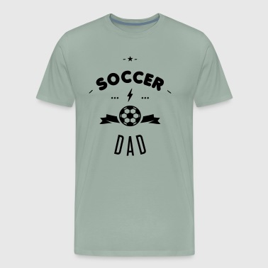 SOCCER DAD - Men's Premium T-Shirt