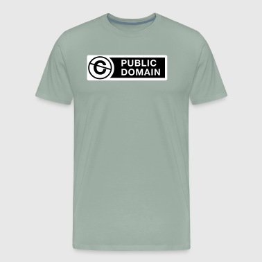 Public Domain - Men's Premium T-Shirt