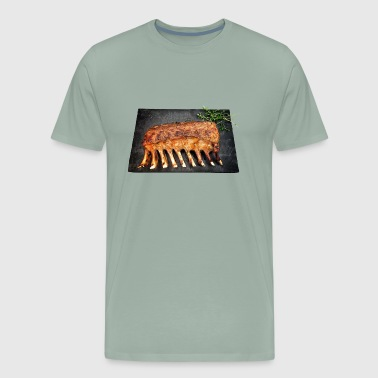 meat rack - Men's Premium T-Shirt