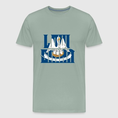 Louisiana - Men's Premium T-Shirt