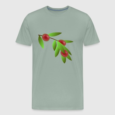 coffee beans - Men's Premium T-Shirt