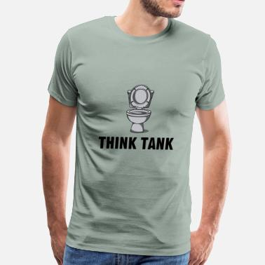 Think Tank Think Tank - Men's Premium T-Shirt